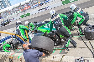 IndyCar Special feature Being part of an IndyCar pit stop crew