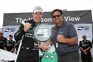 IndyCar Qualifying report Pagenaud on pole for Detroit's race 2, Power is penalized