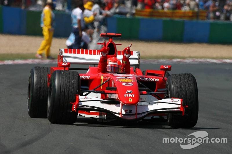 Képeken a ma 50 éves Michael Schumacher 91 F1-es győzelme