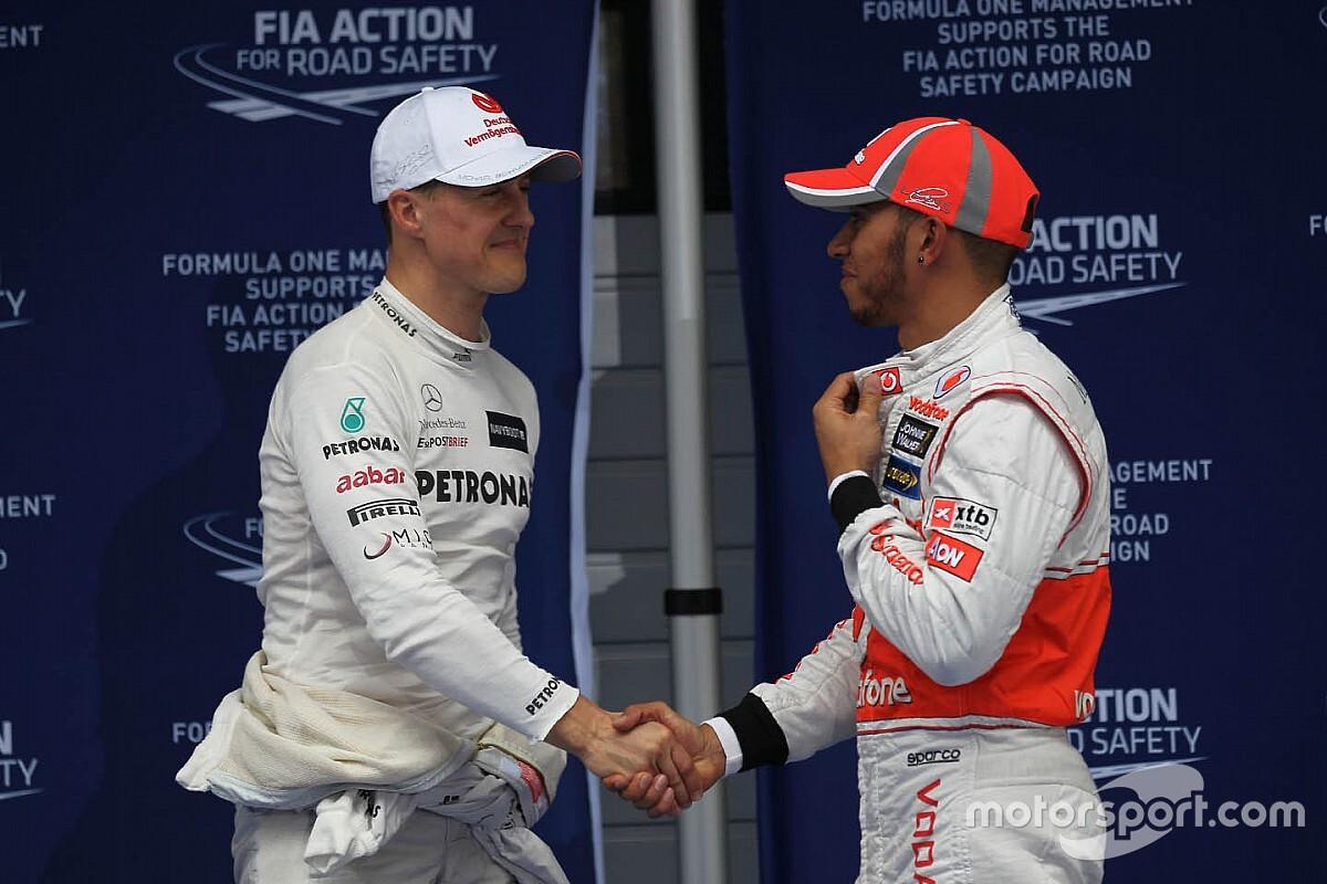 Hamilton, Senna y Schumacher, reyes de pole position en un mismo circuito