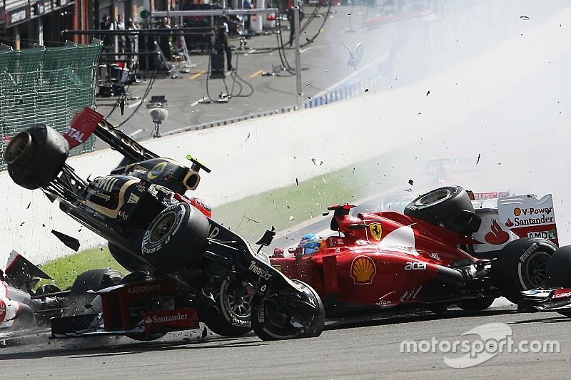 Grosjean életveszélyes csattanása Alonso címébe került a Ferrarival?
