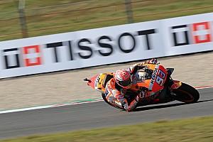 MotoGP Practice report Assen MotoGP: Marquez leads Dovizioso in warm-up