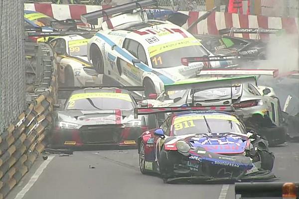 VIDEO: el impresionante choque de GT en Macao