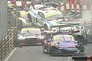 GT Macau GT'de zincirleme kaza yaşandı, Mortara kazandı!