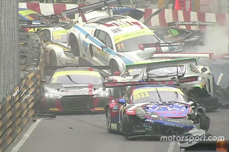 Di Grassi: Macau GT pile-up crash the craziest I can recall