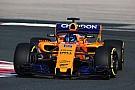 F1 McLaren estrena el MCL33 con motor Renault en Navarra