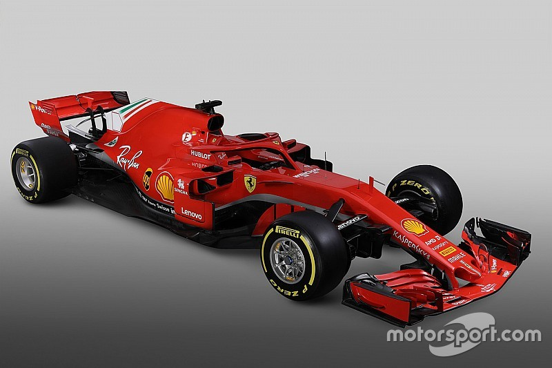ferrari reveals its 2018 f1 car the sf71h. Black Bedroom Furniture Sets. Home Design Ideas