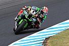Superbike-WM Kawasaki: Test wird durch drei Stürze überschattet