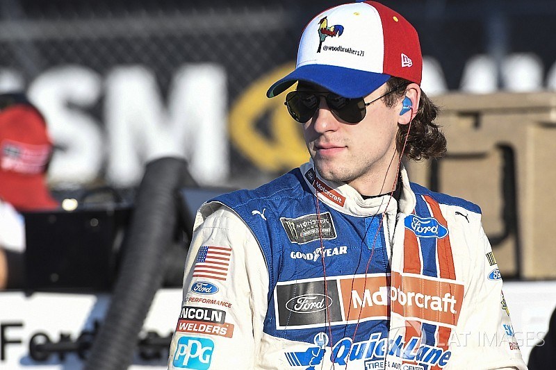 "Ryan Blaney: ""We overcame a lot"" to advance in NASCAR playoffs"