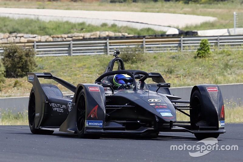 Massa rampungkan tes perdana Formula E