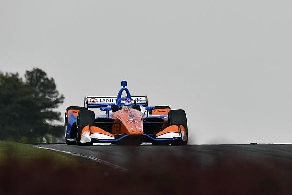 IndyCar Dixon rues issues that cost him Barber podium