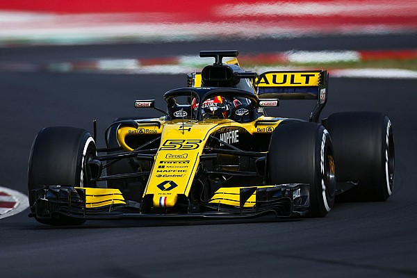 Renault termine des tests
