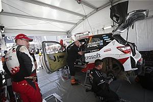 WRC Ultime notizie Toyota, Messico stregato. La Yaris ha ancora problemi di motore