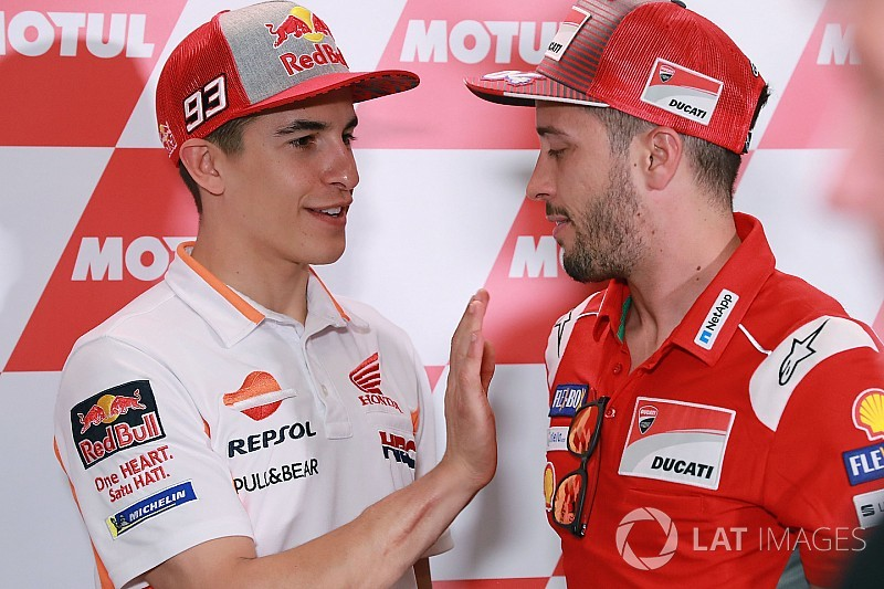 Márquez tendrá la oportunidad de la revancha frente a Dovizioso