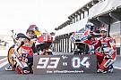 Galería: cara a cara entre Márquez y Dovizioso en víspera del decisivo gran premio