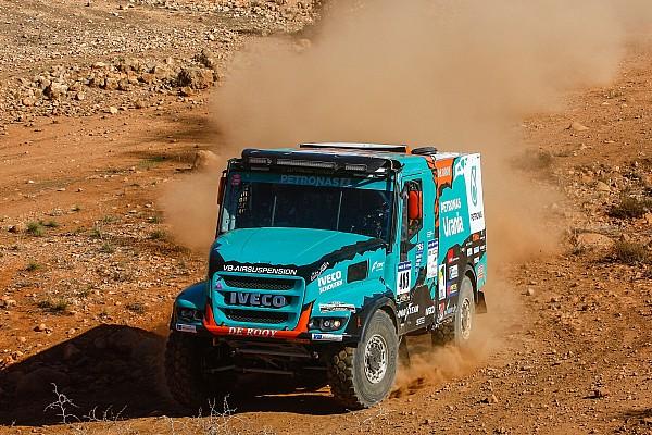 Averij voor De Rooy en Van Ginkel in tweede etappe Africa Eco Race