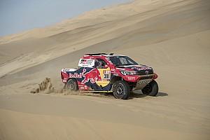 Dakar Breaking news Toyota drivers say
