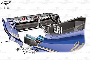 Formel-1-Technik: Entwicklung des Sauber C36 in der Saison 2017