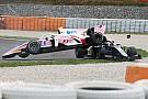FIA F2 Photos - L'accident de Makino avec Fukuzumi