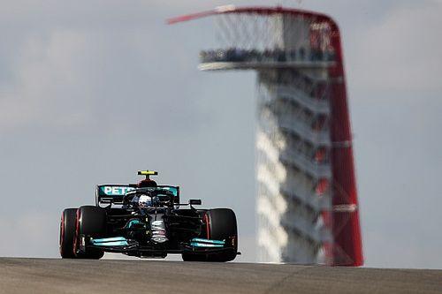 Bottas és Hamilton sokkal gyorsabb volt Verstappennél az USA Nagydíj 1. szabadedzésén