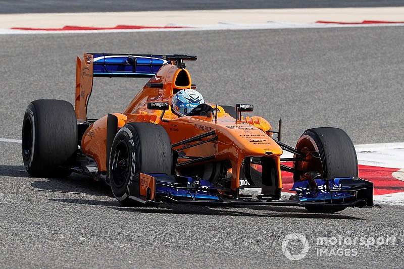 La McLaren à moteur V8 a rappelé à Alonso le son qui