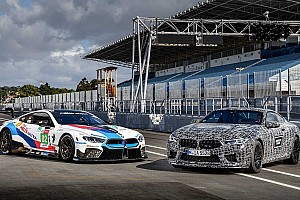 Hop onboard the BMW M8 and M8 GTE for hot laps at Estoril