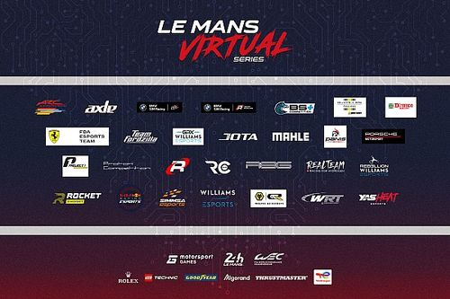 Racing and Esports elite combine for Le Mans Virtual Series