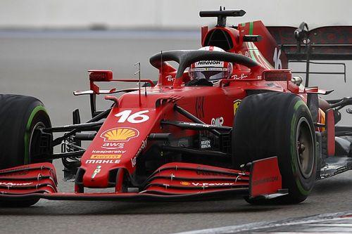 """Leclerc: """"Volevo rientrare lo stesso giro di Sainz"""""""