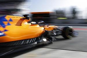 A McLaren garázsában tűz ütött ki Barcelonában