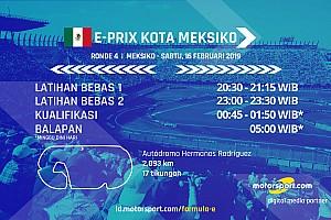 Jadwal Formula E E-Prix Kota Meksiko