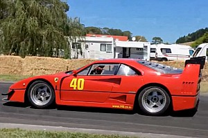 Un V8 Lexus dans une Ferrari F40 LM Replica