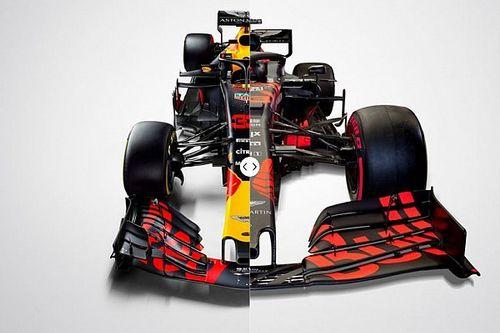 Vergleich Design Formel-1-Autos 2018 vs. 2019: Red Bull