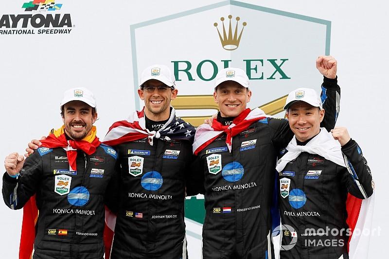 Alonso gana las 24 Horas de Daytona