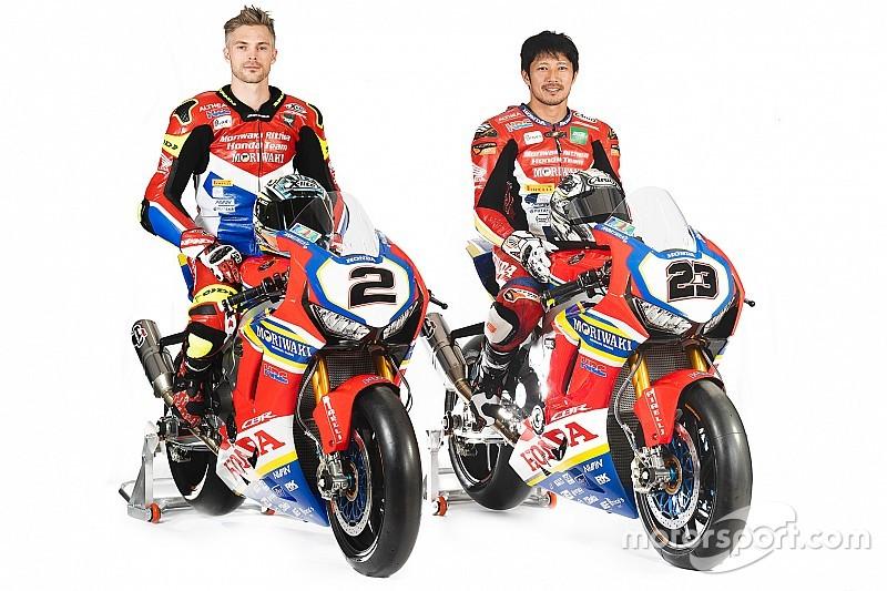 Honda unveils bike for factory World Superbike return