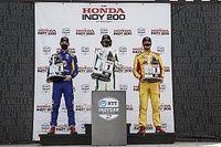 إندي كار: هيرتا يحرز الفوز متقدماً ثلاثية أندريتي في سباق ميد-أوهايو الثاني