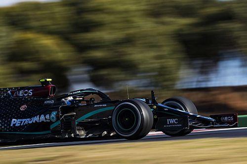 Mercedes domina la FP3 en Portugal y Gasly sorprende