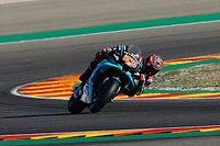 Quartararo'nun Teruel GP'de mücadele edebilecek performansı yokmuş