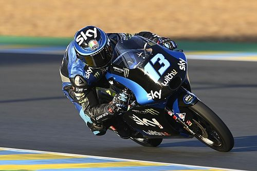Le Mans Moto3: Vietti wins to reignite title bid, McPhee crashes