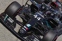 Spanish GP: Hamilton quickest in FP3, Ocon crashes