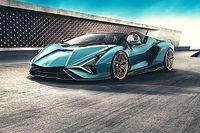 Lamborghini Sian Roadster, un fulmine senza il tetto