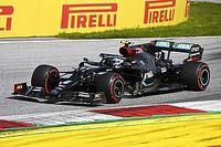 """Bottas: 2º lugar foi """"redução de danos"""" em corrida dominada por Hamilton"""