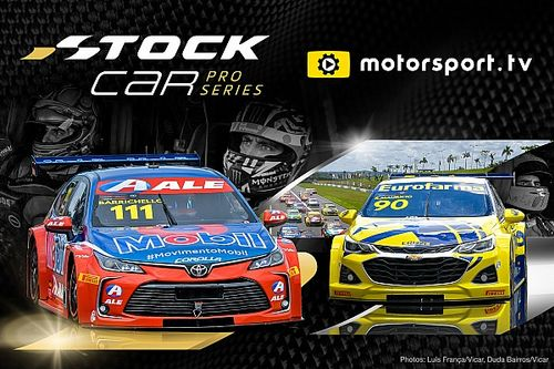 Motorsport.tv retransmitirá el campeonato de Stock Car Brasil
