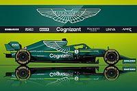 Vídeo: Aston Martin enciende el motor de su coche AMR21 de F1