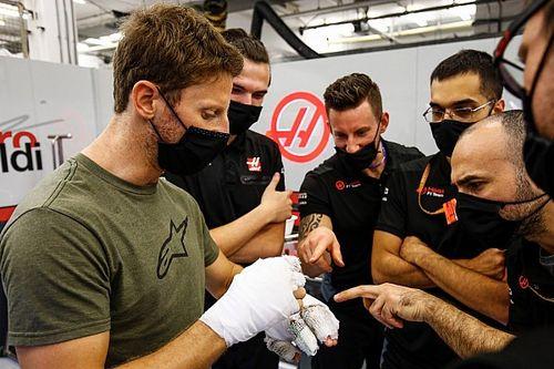 Mercedes está dispuesto a darle un test de despedida a Grosjean