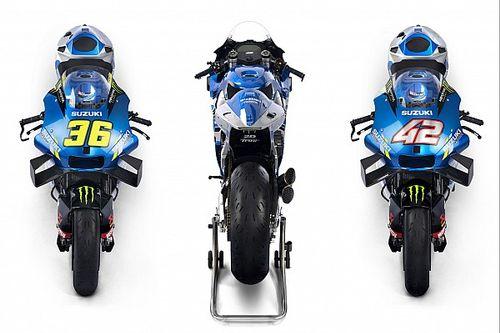 Suzuki présente sa MotoGP pour lancer la défense du titre