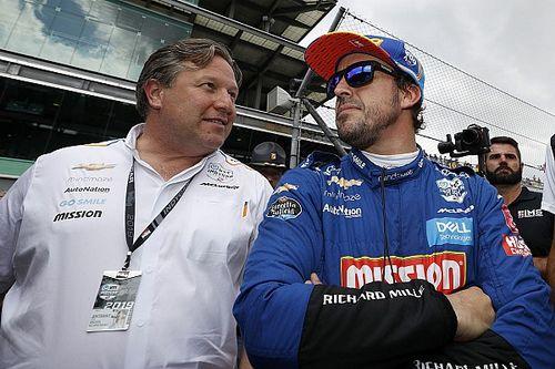 Zak Brown Akui Penyebab Kegagalan Fernando Alonso di Indy 500