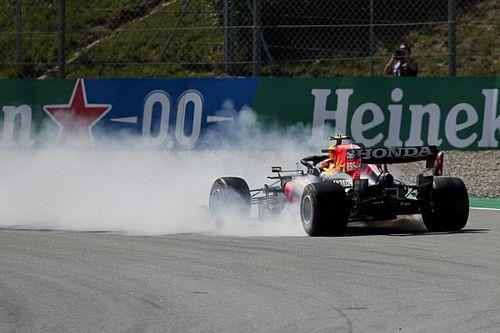 Red Bull explica el trompo de Pérez en la clasificación en España
