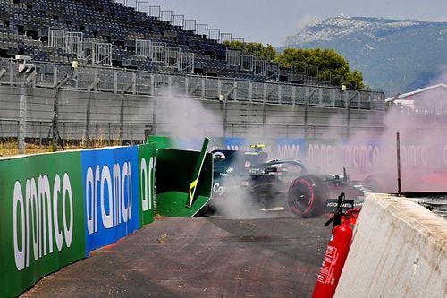 """Vettel az ütközéséről: """"Kifogott rajtam a szél..."""""""