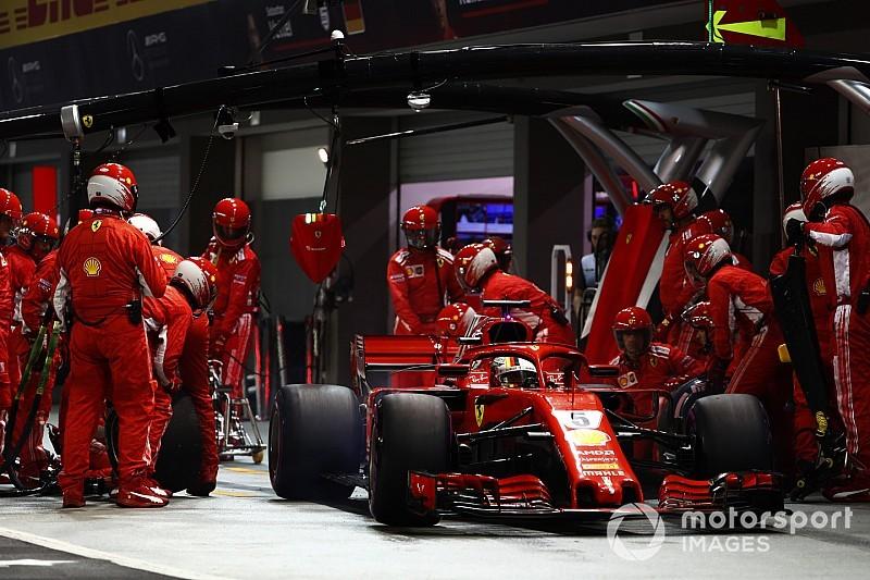 Fataliste, Vettel voit Hamilton s'échapper au championnat