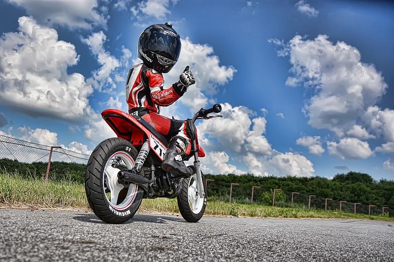 За перший подіум п'ятирічний Кулєшов боровся у мотоперегонах два роки